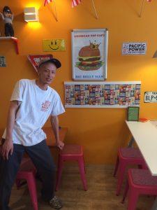 アメリカンポップカフェ ビッグベリーマン 東大阪店 さんのマスターさん