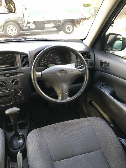 中古車カーリース トヨタ プロボックス ハンドル 外装